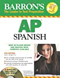 Barrons AP Spanish Prep Book and CD