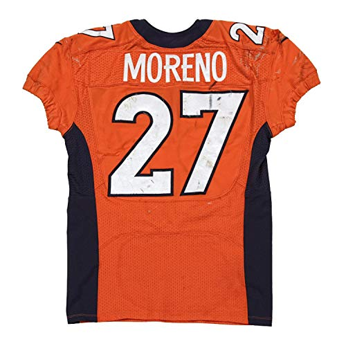 Knowshon Moreno Game Worn Jersey from 9/29/2013 vs the Philadelphia Eagles ~Limited Edition 1/1~ - Unsigned NFL Game Used Jerseys