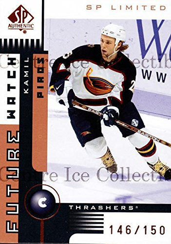 02 Sp Authentic Hockey Card - (CI) Kamil Piros Hockey Card 2001-02 SP Authentic Limited (base) 135 Kamil Piros