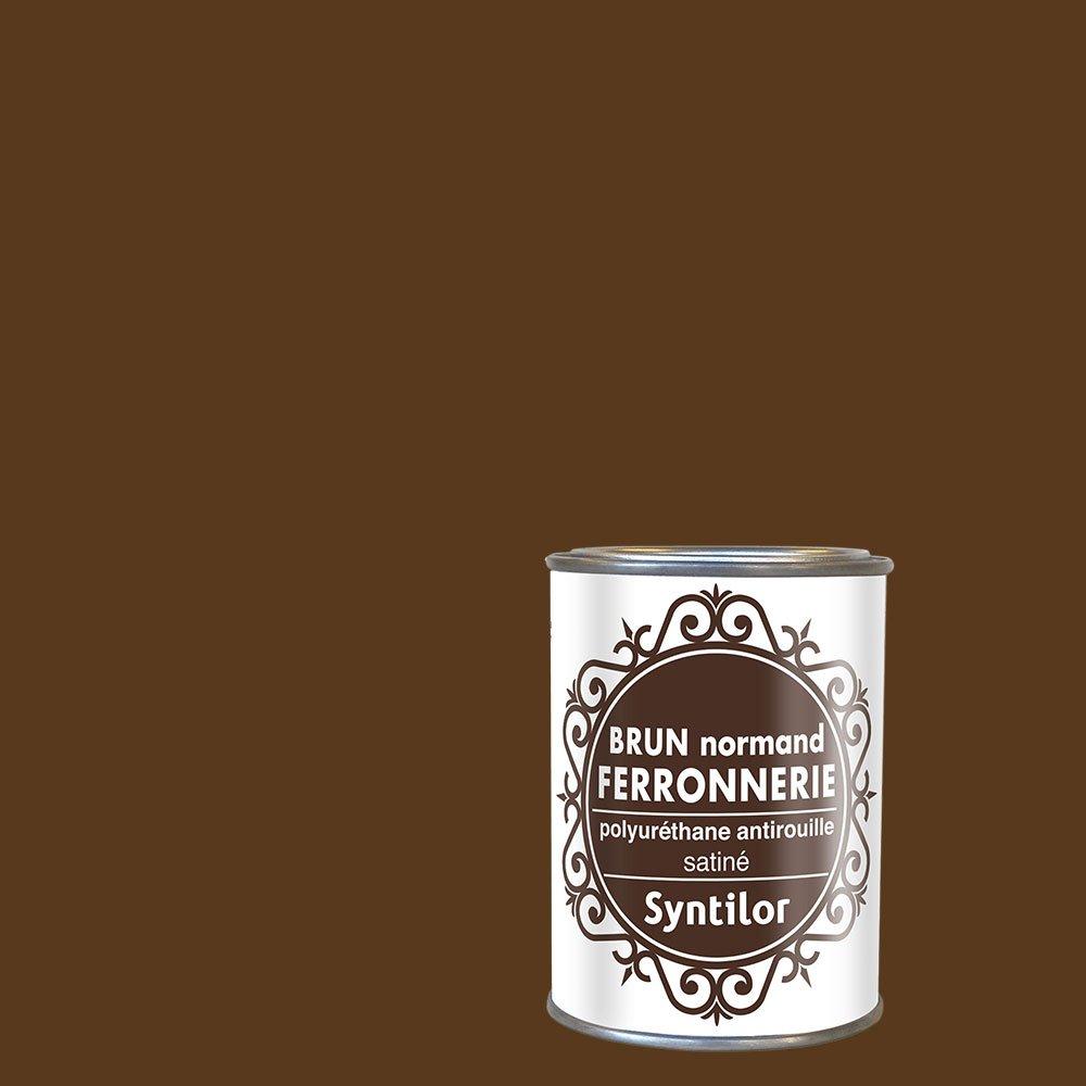 Syntilor - Peintures Ferronnerie Noir Satiné 0, 75L 04341016