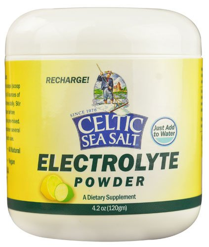 Selina Naturally Celtic Sea Salt Electrolyte Powder -- 4.2 oz - 2 pc