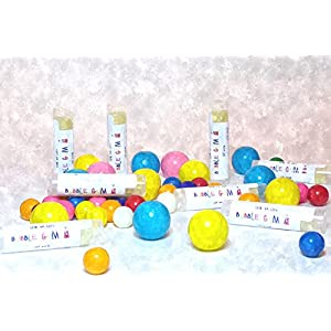 Bubble Gum Lip Balm by Lick 'er Lips, Moisturizing, Beeswax Lip Care - .15 oz tube