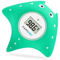 Baby Bath Thermometer with Room Thermometer - Famidoc FDTH-V0-22 NEW Upgraded Sensor Technology for Baby Health Bath Tub…