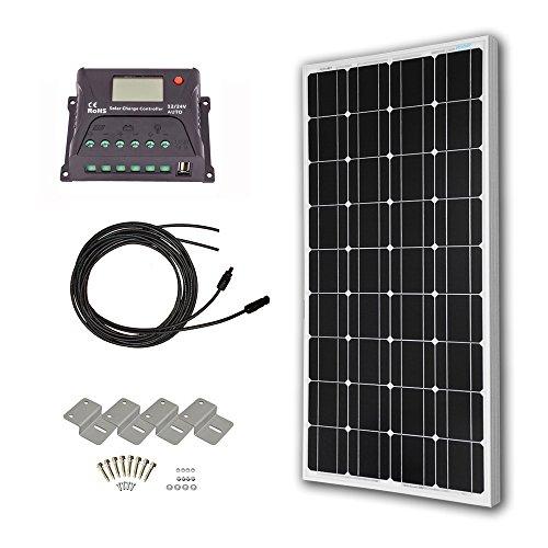 HQST-100-Watt-12-Volt-Monocrystalline-Solar-Panel-Kit