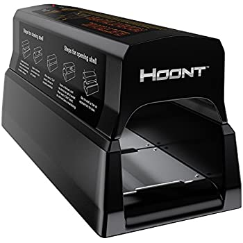 Hoont Powerful Electronic Rodent Trap, Humane and Clean Extermination of Rats, Mice and Squirrels, Upgraded Version