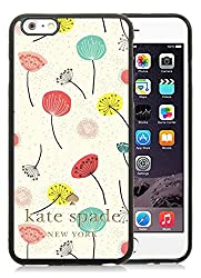 iPhone 6 Plus 5.5 inch Kate Spade 61 Black TPU Phone Case Unique and Luxury Design