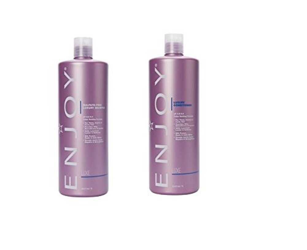 Enjoy Hair Care - 33.8 Ounce Luxury Duo Shampoo and Conditioner Duo