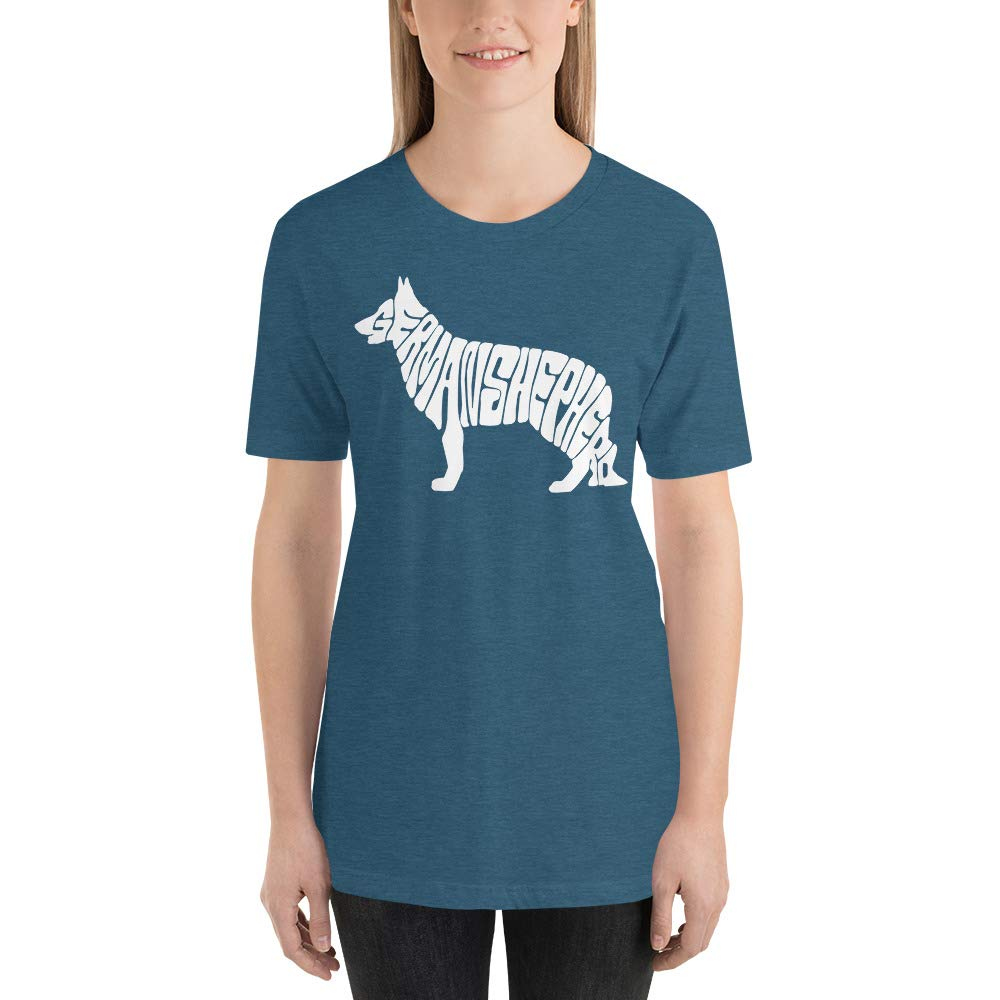 Stylish German Shepard Short-Sleeve Unisex T-Shirt