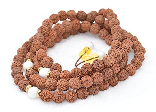 - The Art of Cure Healing Jewelry & Mala meditation beads (108 beads on a strand) (rudakrushka)