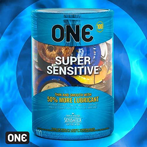 Super Sensitive Thinner ONE Condoms 100 Bag