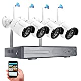 Cheap Yeskam Home Security Camera System 1080P Wireless 4 Channel Full HD Surveillance Cameras Auto Pair 2.0 Megapixel DVR Recorder Outdoor CCTV KIT No Hard Drive