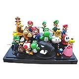 "Lujex Super Mario Bros Figure Toy 18Pcs Doll 1-3"" Action Figure"