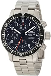 "Fortis Men's 638.10.11M B-42 ""Official Cosmonauts"" Stainless Steel Automatic Watch"