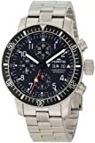 Fortis Men's 638.10.11M B-42 Official Cosmonauts Automatic Chronograph Black Dial Watch, Watch Central
