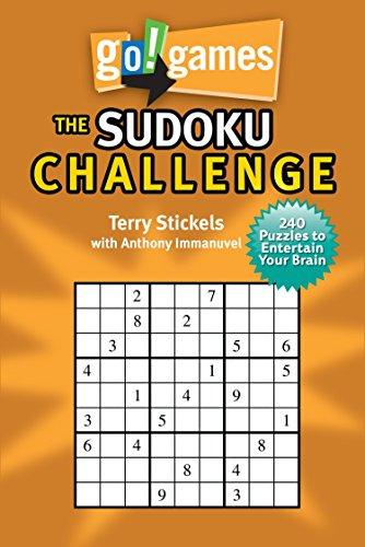 Go!Games The Sudoku Challenge: 240 Entertain Your Brain Puzzles ()