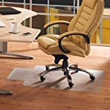 PVC Home Office Chair Floor Mat For Wood Tile