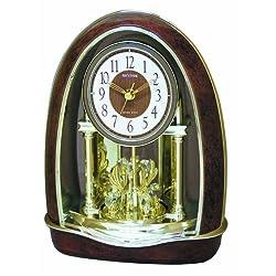 Rhythm Clocks Classic Nightingale Musical Motion Clock