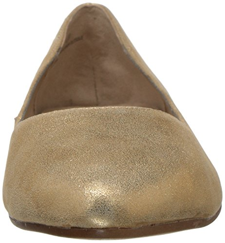 Leather Girl Women's Aerosoles Flat Hey Gold Ballet gwYgFqzE1