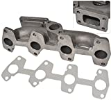 Chevy Cavalier S10 2.2L Engine T3 T3/T4 Flange Cast Iron Turbo Manifold