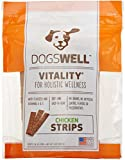 Vitality Chicken Jerky Strip Dog Treat, 5-Ounce