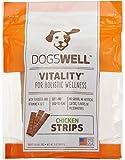 Vitality Chicken Jerky Strip Dog Treat, 5-Ounce For Sale