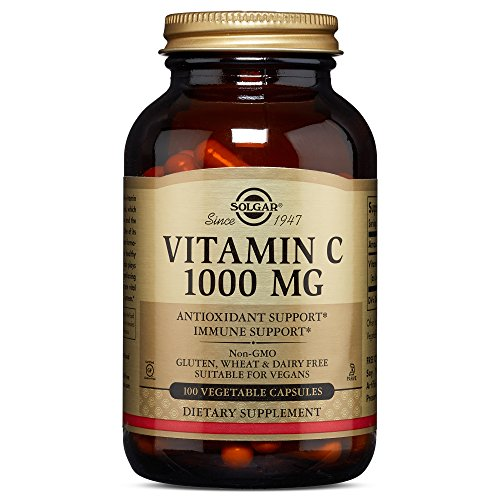 Solgar – Vitamin C 1000 mg Vegetable Capsules