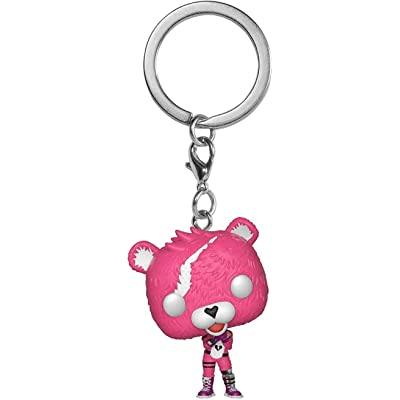 Funko 35717 Pop! Keychain: Fortnite - Cuddle Team Leader Collectible Figure, One Size, Multicolor: Toys & Games