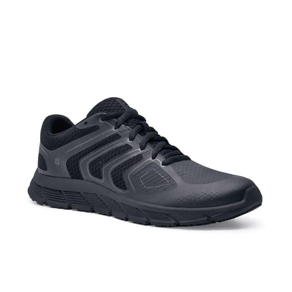 Shoes for Crews Mens Stride Athletic-Sneaker Low Slip Resistant Work Shoe Black by Shoes for Crews