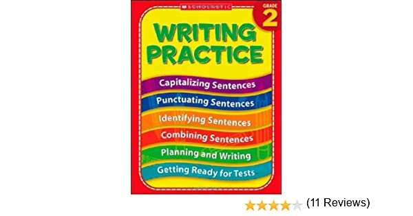 Amazon.com: Writing Practice, Grade 2 (0078073819119): Terry ...