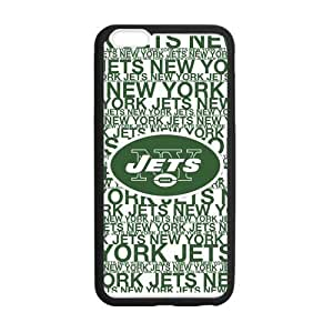 Classic Style Custom Silicone Hard Rubber Protector Case for iPhone6(4.7inch) - New York Jets