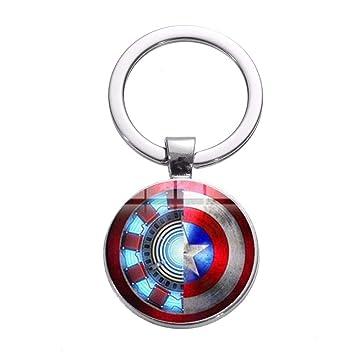 TUDUDU Iron Man Tony Stark Llavero Marvel Los Vengadores 4 ...