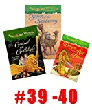 img - for Magic Tree House Books(# 32 -40) : Dragon of the Red Dawn, Season of the Sandstorm, Night of the New Magicians, Blizzard of the Blue Moon; Night of the New Magicians; Winter of the Wizard; Carnival At Candlelight; Monday with Mad Genius (Magic Tree House) book / textbook / text book