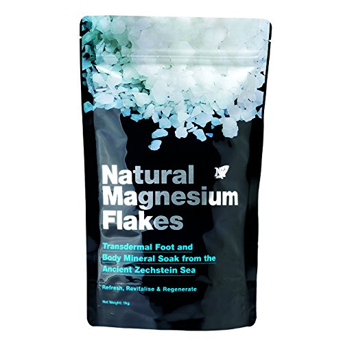 8 Pack Cosway Nn Natural Magnesium Flakes ( 1kg Per Pack )