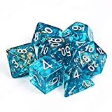 Polyhedral 7-Die Dice Set for Dungeons and