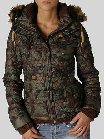 Damen Khujo 1146jk 133 Camouflage MAmazon Jacke 843 Jaydee QdxCthsr