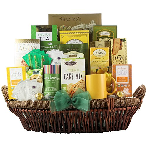GreatArrivals Gift Baskets Tea Lovers Dream: Gourmet Tea Gift Basket, 8 Pound by GreatArrivals Gift Baskets
