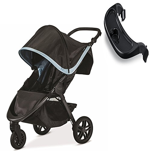 Britax B-Free Stroller, Frost With Tray Set
