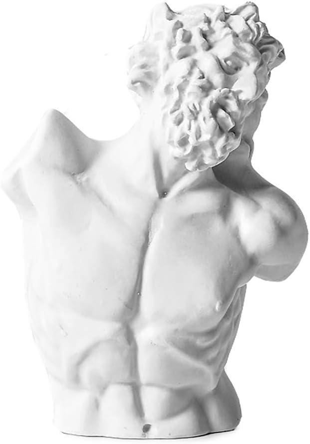 WaNana 3.15Resin Sketch Figurines-Mini Plaster Statue Venus de Milo Replica Aphrodite Greek Goddess Bust Statue Home Decor Souvenirs-Great for Artists 10PCS-SET01