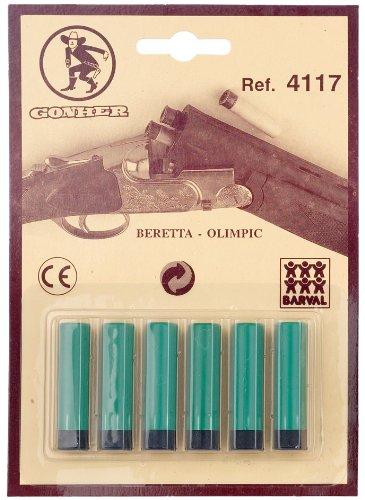 Gonher 4117 - Blister de 6 cartuchos para escopeta Desconocido 4117/0