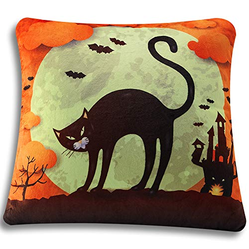 Halloween Reading Tasks - Stylish Funny Cat Castle 3D Graphic