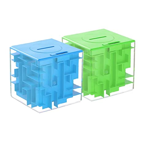 Regali Di Natale Per I Ragazzi.Sealen Money Maze Puzzle Box Money Holder Puzzle Rompicapo Fun
