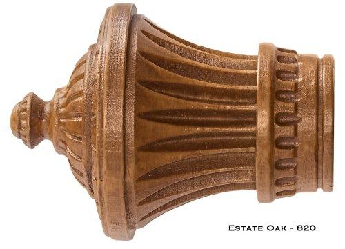 Finials Oak - Charleston Finials - Kirsch Wood Trends - 1 3/8
