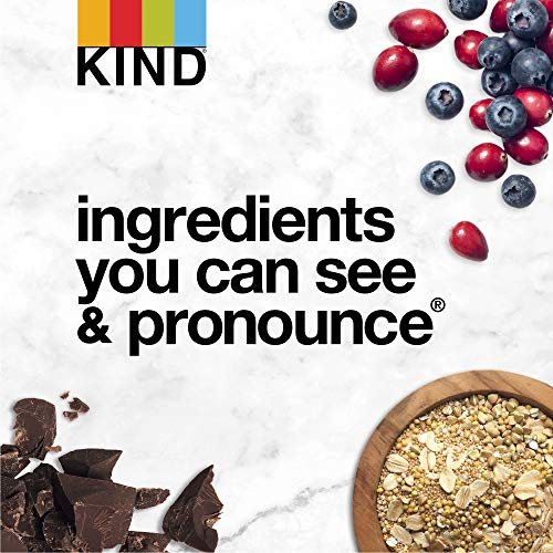 KIND Healthy Grains Clusters, Raspberry with Chia Seeds Granola, Gluten Free, 11 Ounce Bags, 6 Count
