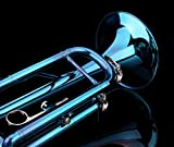 Glory Brass Bb Trumpet with Pro Case +Care Kit, Sea Blue, More COLORS Available ! CLICK on LISTING to SEE All Colors