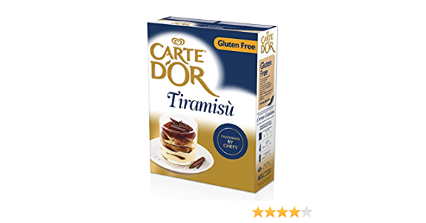 Carte dOr Tiramisú deshidratado sin gluten. 48 raciones