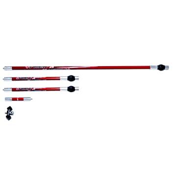 ZSHJG 6.5 Inch Archery Bow Stabilizer Aluminum Alloy Vibration Dampening Stabilizer Professional Compound Bow and Arrow Accessories