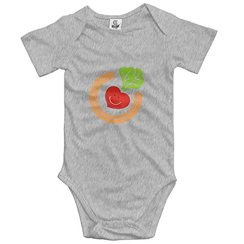 USYCHATS Soft Cotton Carrot Baby Jumpsuit Infant (Burts Bees Carrot)