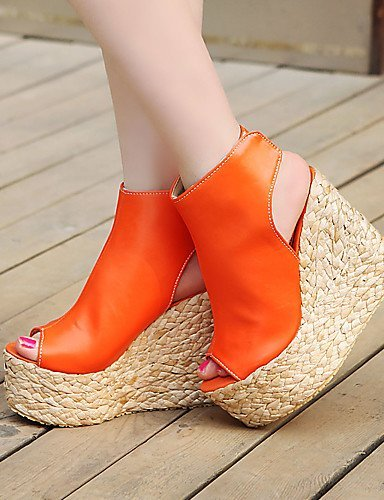 Sandals amp; Heels Peep Heel Women's Blue Toe Shoes Clogs Heels Outdoor CasualBlack Platform Dress Mules Wedges ShangYi qwn8PTEXX