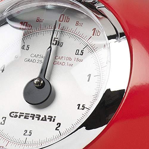 1 pezzo colori assortiti G3 Ferrari  G20003 Aska  Bilancia Meccanica da Cucina