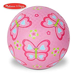 Melissa & Doug Sunny Patch Cutie Pie Butterfly Classic Rubber Kickball